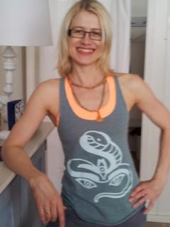 Yoga Düsseldorf, YogaKitchen, Jivamukti Yogalehrerin Annette Böhmer