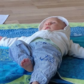 Baby-Massage-Kurse in der YogaKitchen