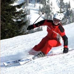 Christiane Hoffschildt, Yoga und Ski Yogareise Kleinwalsertal