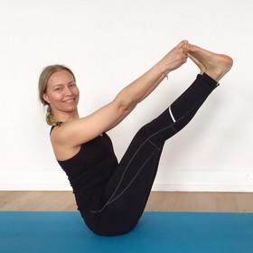 Core-Yoga mit Lidia Schwab