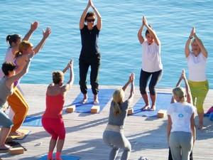 "Yogareise ""Jivamukti Yoga Retreat"" im Daios Cove auf Kreta mit Annette Böhmer"