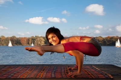 Yoga Düsseldorf, YogaKitchen, Yogalehrerin Nadja 'Nica' Agapova