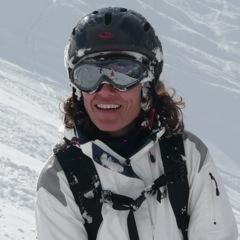 Natascha Kiessler, Yoga und Ski Yogareise Kleinwalsertal