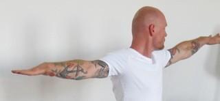 Yoga Düsseldorf, YogaKitchen, Ashtanga-Yoga-Therapeut in Ausbildung  Rene Wegmann
