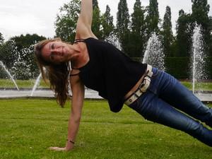 Yoga Düsseldorf, YogaKitchen, Vinyasa-Yogalehrerin Sandra Eding